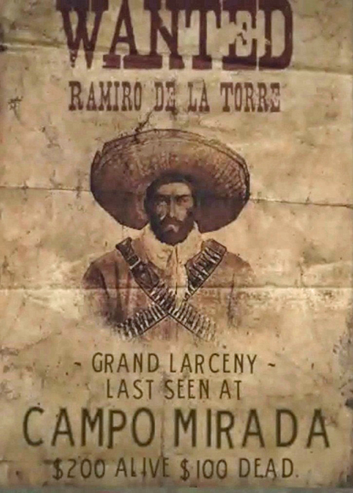 Wanted Poster | Red Dead Wiki | FANDOM powered by Wikia