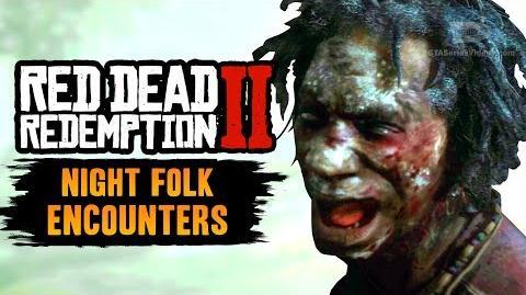 Red Dead Redemption 2 Night Folk Encounters RDR2 A Fine Night for It