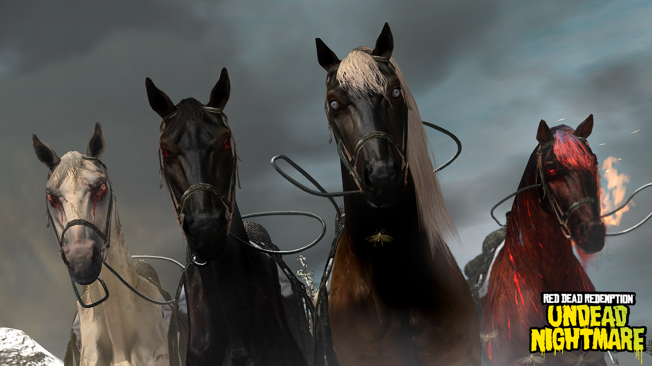 Four Horses Of The Apocalypse Red Dead Wiki Fandom Powered By Wikia