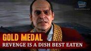 Red Dead Redemption 2 - Mission 56 - Revenge is a Dish Best Eaten Gold Medal-1