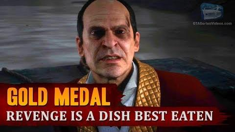 Red Dead Redemption 2 - Mission 56 - Revenge is a Dish Best Eaten Gold Medal-1