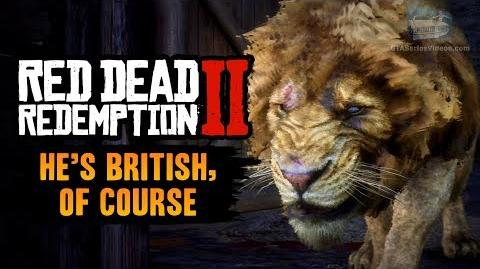 Red Dead Redemption 2 Stranger Mission - He's British, of Course