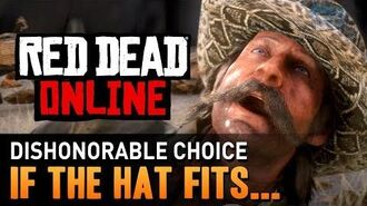 Red Dead Online - Mission 3 - If the Hat Fits... (Dishonorable) Gold Medal