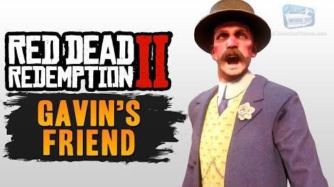 Red Dead Redemption 2 - Gavin's Friend (All Encounters)