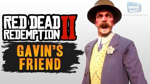 Red Dead Redemption 2 - Gavin's Friend (All Encounters)