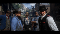 RDR 2 Trailer 3 Van der Linde Gang In Town