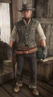 Red Dead Online cowboy outfit