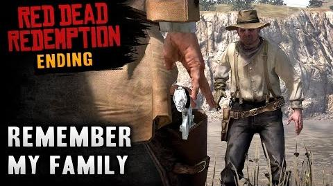 Red Dead Redemption - Ending Final Mission 58 - Remember My Family (Xbox One)