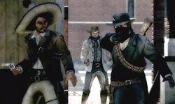 Dutch Gang robbing bank
