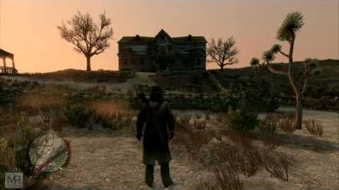 Red Dead Redemption - Bats at Tumbleweed