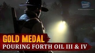 Red Dead Redemption 2 - Mission -20 - Pouring Forth Oil III & IV -Gold Medal-