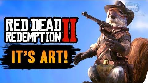 Red Dead Redemption 2 - All Hunting Requests It's Art Trophy Achievement