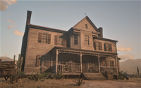 Tumbleweed Mansion RDR2