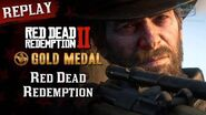 RDR2 PC - Mission 83 - Red Dead Redemption Replay & Gold Medal