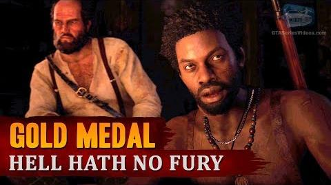 Red Dead Redemption 2 - Mission 61 - Hell Hath no Fury Gold Medal