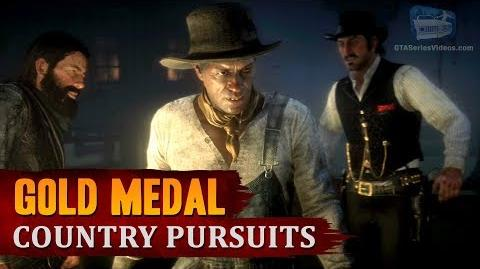 Red Dead Redemption 2 - Mission 55 - Country Pursuits Gold Medal
