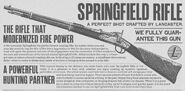 Springfield Rifle - Red Dead Redemption 2