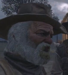 Grandpa close up