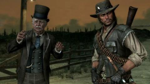 """Red Dead Redemption - mission """"You Shall Not Give False Testimony, Except for Profit"""""""