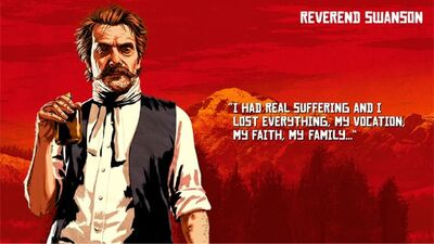 RDR2 スワンソ牧師