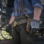 RDR2 イノシシの乗馬用手袋