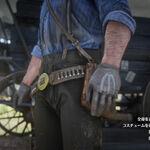 RDR2 雄鹿の乗馬用手袋