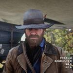 RDR2 伝説の雄羊の帽子
