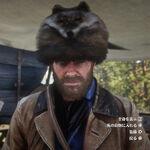 RDR2 アライグマの帽子