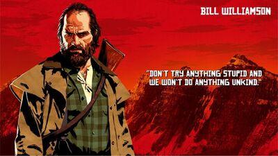 RDR2 ビル・ウィリアムソン