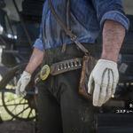 RDR2 エルクの乗馬用手袋
