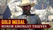 Red Dead Redemption 2 - Mission 76 - Honor Amongst Thieves Gold Medal