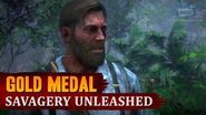 Red Dead Redemption 2 - Mission 59 - Savagery Unleashed Gold Medal