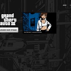 Page de lancement de <i>Grand Theft Auto III</i>