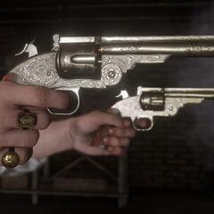 Ses deux revolvers