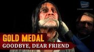 Red Dead Redemption 2 - Mission 79 - Goodbye, Dear Friend Gold Medal
