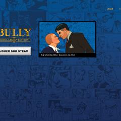 Page de lancement de <i>Bully: Scholarship Edition</i>