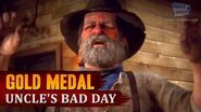 Red Dead Redemption 2 - Mission 103 - Uncle's Bad Day Gold Medal