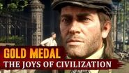 Red Dead Redemption 2 - Mission 43 - The Joys of Civilization Gold Medal