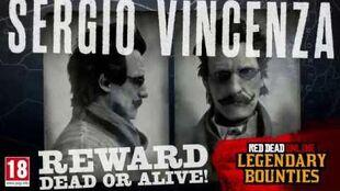 Red Dead Online Sergio Vincenza