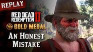 RDR2 PC - Mission 33 - An Honest Mistake Replay & Gold Medal