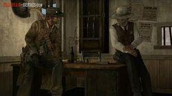 Red Dead Redemption Undead Nightmare - Survivor Mission - Dinner for Two