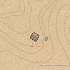 La carte lorsque le joueur est dans le sous-sol