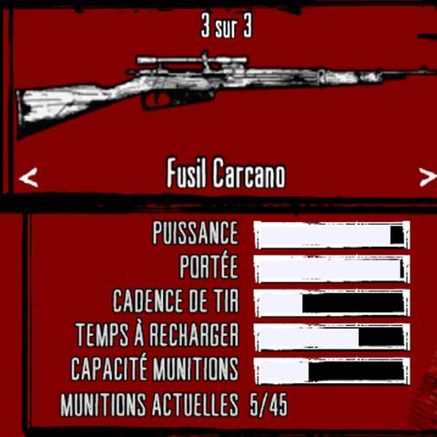 Présentation de l'arme