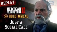 RDR2 PC - Mission 70 - Just a Social Call Replay & Gold Medal