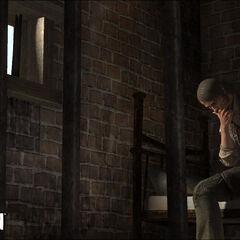 John dans la prison de Armadillo