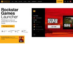 Page de téléchargement du Launcher