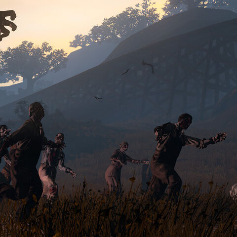 Les plaines envahies par les morts-vivants
