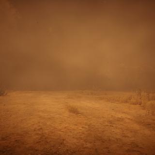 Une tempête de sable dans l'état