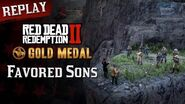 RDR2 PC - Mission 78 - Favored Sons Replay & Gold Medal