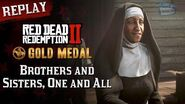 RDR2 PC - Mission 47 - Brothers and Sisters, One and All Replay & Gold Medal